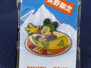 ディズニー ピンズ(ご当地ピンバッジ)ミッキーマウス 長野限定 未開封品