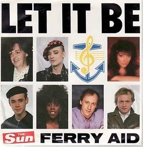 879●7' Beatles 関連 Paul McCartney 他 Let It Be!Ferry Aid!87年 蘭盤!ポール・マッカートニー ビートルズ John Lennon Ring Starr