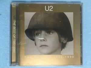 【 送料198円でから!盤面良好!輸入盤 】★ U2 ベスト◇THE BEST OF 1980-1990 ベストオブ U2◇全14曲収録 ★