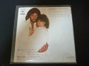 WOMAN IN LOVE / BARBRA STREISAND/ 7インチ' ビージーズ バリー・ギブ