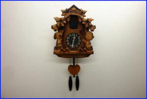 【超希少・廃盤】CITIZEN シチズン スヌーピー 木製 壁掛け 鳩時計【4MJ7620-0】