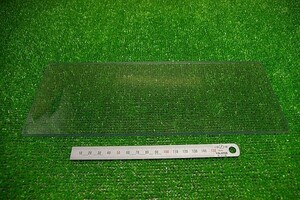 【ZEA-0083】 ジャンク 樹脂板 299mm×114mm 板厚 5mm