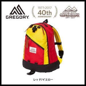 【送料無料】茶タグ 40周年記念モデル 17SS グレゴリー デイパック80 レッドxイエロー 新品