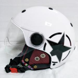 バイク 自転車 ジェット キャップ ヘルメット L サイズ 新品 在庫 格安 価格 処分 即日 スタート v203 最落 設定 なし 5