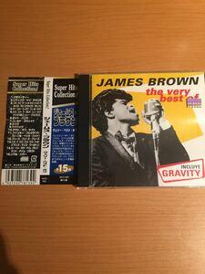 ジェイムス・ブラウン ベリー・ベスト・オブ 米国盤【国内盤帯付き】CD