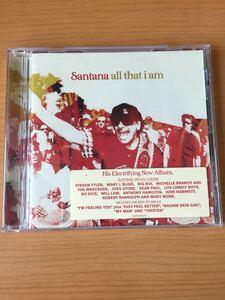 サンタナ オール・ザット・アイ・アム(All That I Am)EU盤CD