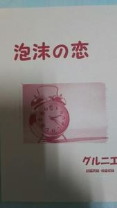 ワンピース同人誌「泡沫の恋」ルゾロ