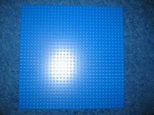 LEGO 620 レゴブロックパーツブループレート基盤廃盤品