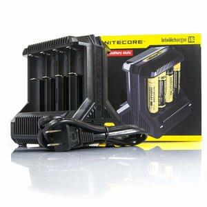 NITECORE Intellicharger i8 14500/18650/26650 リチウムイオン充電池 NI-MH/NiCd 電池 8連 充電器 マルチチャージャー