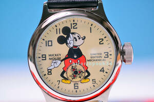 株主限定●1933年復刻  ミッキーマウス 手巻時計● Ingersoll● パイアイ● Disney