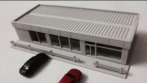 1/100 1/76 1/87■HOゲージ■ジオラマ 鉄道模型 建物 コンビニストア 組み立てキット 未完成品■C114_2