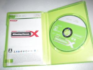 中古 XBOX360 ワールドサッカー ウイニングイレブン X 動作保証 同梱可