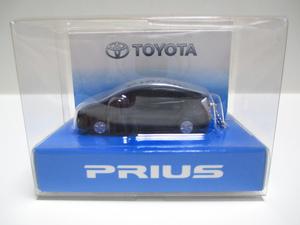 トヨタ 3代目プリウス 30系 PRIUS 非売品 LED ミニカー キーホルダー ブラック