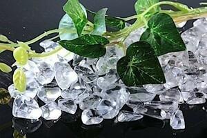 【送料無料】 200g さざれ 大サイズ AAAランク クオーツ 水晶 パワーストーン 天然石 ブレスレット 浄化用 さざれ石 チップ ※4