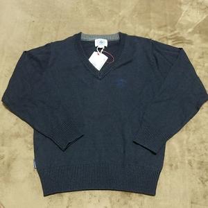新品未使用★J.PRESS セーター 120 ネイビー 紺