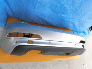 アウディ Q3 8U リアバンパー シルバー  W637