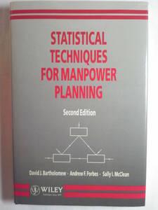 英語「マンパワー計画のための統計テクニックStatistical Techniques for Manpower Planning 2版」