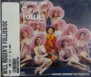 CD ブロードウェイミュージカル「the Will Rogers Follies ウィルロジャースフォーリーズ」