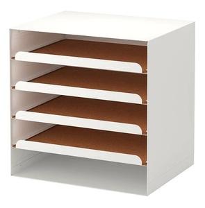 * IKEA Ikea * KVISSLEk vi  потертость письмо tray, белый бумага & носитель информации бур nai The -<32 cm×25 cm×32 cm>2h
