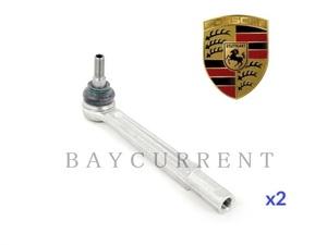 【正規純正OEM】 PORSCHE タイロッドエンド 左右 セット 2本 ポルシェ 911 カレラ ターボ GT2 GT3 996 997 99634713104 Carrera