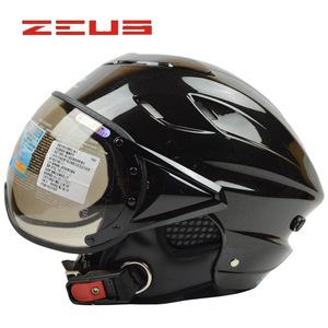 ヘルメットシールド 半帽ヘルメット ハーフヘルメットジェットバイク用ヘルメットおしゃれ夏秋用