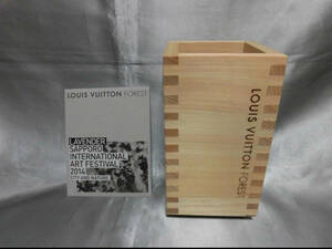 не использовался * Louis Vuitton FOREST 2014 Sapporo международный искусство праздник память посадочная машина