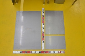 鉄 酸洗い鋼板(黒皮除去品)(1.6~6.0mm厚)の(914x600~300x200mm)定寸・枚数販売F11