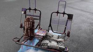 展示品 スチームパンク ダメージ 廃工場 スタイル カフェ インテリア ガレージ 喫茶 ソファー リアシート 屋外 室内 錆風 自動車