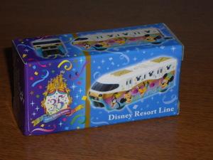 ♪♪トミカ ディズニーリゾート TDR 35周年 リゾートライン Disney Resort Line♪♪