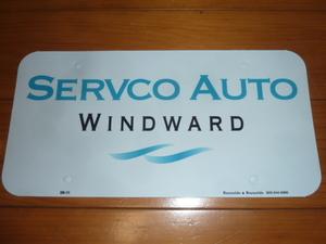 SEAVCO トヨタ ナンバーインサート 新車 認定中古車 ハワイ ディーラー US 北米 USDM タンドラ タコマ シエナ プリウス カムリ アクア 86