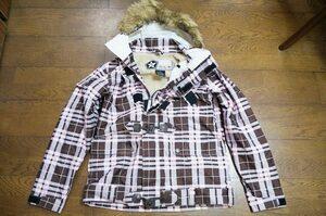 美品 女性用 SESSIONS セッションズ スノーボードウエア Sioux Plaid JacketジャケットM*burtonバートンVOLCOMREWM686DCANALOGspecialblend