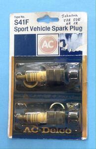 удаление:  ...  AC SPARK PLUG S41F