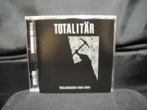 輸入盤CD/TOTALITAR/トータリター/WALLBREAKER1986-1989/80年代スウェーディッシュハードコアパンクHARDCORE PUNKスウェーデンSWEDEN北欧