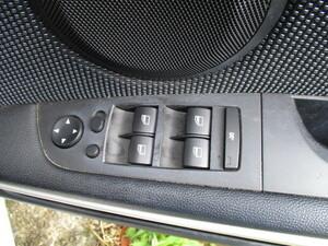 H18年式 BMW 320i ツーリング Mスポーツ 3シリーズ E91 VR20 パワーウインドウ/ドアミラースイッチ フロント運転席(右)側