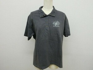 (22381)siivia&siivester ポロシャツ 半袖 グレー サイズ3L USED