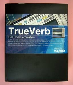 【3107】Waves TrueVerb Native 新品 ウェーブス Real Room Emulation 可(MacOS X) ルーム音響 ルームエコー 室内シミュレータ V5TVN40BOX