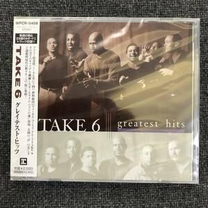 新品未開封CD☆ TAKE 6(テイク6) グレイテスト・ヒッツ/WPCR-10458/