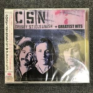 新品未開封CD☆ クロスビー、スティルス&ナッシュ グレイテスト・ヒッツ/WPCR12047/