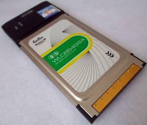 【Corega】無線LAN・PCカード WLCB54GSX