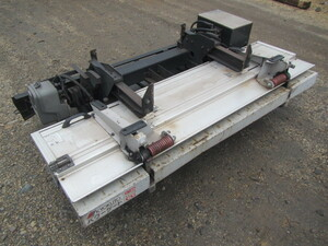 #8616-100 * aluminium storage type power gate 2 ton wide Dyna Dutro