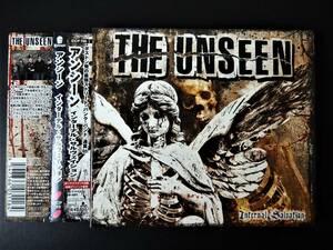 【USボストン産ストリートパンク/6作目/国内盤帯付美品即決!】THE UNSEEN Internal Salvation