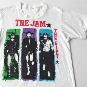 82年 THE JAM (THE GIFT) プロモ用 Tシャツ ビンテージ 80s 80年代 ジャム ギフト プロモーション 手刷り シルクスクリーン オリジナル