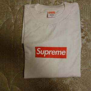 即決 supreme オリジナル box logo tee white xl