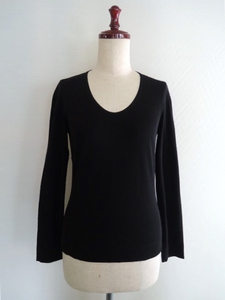 JURGEN LEHL ヨーガンレール 長袖カットソー Tシャツ 黒 3ステッチデザイン サイズS