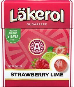 Cloetta Lakerol クロエッタ ラケロール ストロベリー味 25g ×4箱 スゥエーデンのハードグミです