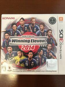 任天堂 3ds ワールドサッカー ウイニングイレブン2014 蒼き侍の挑戦 ウイイレ2014 ウィニング Winning eleven Winningeleven