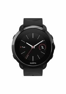 new goods * free shipping *SUUNTO 3 FITNESS ALL BLACKs Lee fitness all black action amount total smart watch heart . consumption calorie sleeping analysis