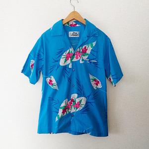 【made in HAWAII USA ★ Aloha】 アロハ シャツ ★ Hilo Hatties HAWAII ★ ヴィンテージ / ハワイ