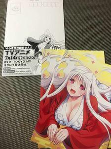 即決 5枚セット ゆらぎ荘の幽奈さん 非売品 ポストカード イラストカード 書店 特典 限定 ミウラタダヒロ