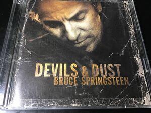 【送料込】【国内盤CD+DVD】ブルース・スプリングスティーン / デビルズ・アンド・ダスト